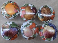 Cabinet knobs 6 Fruit