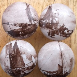Cabinet Knobs Old World Ships